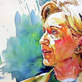 Hillary Clinton by David Lobenberg