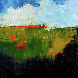 Nancy Merkle - Hilltop Abstract Landscape