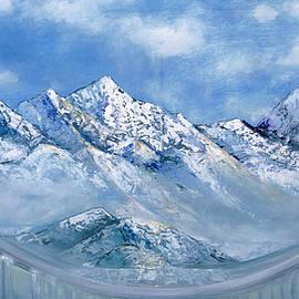 Himalayas mountains by Nino Ponditerra