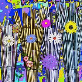 Hippie Hippie Straws by Eleni Synodinou