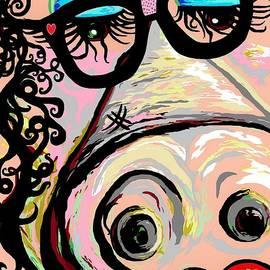 Hipster Pig by Eloise Schneider Mote