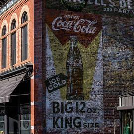 Gary Whitton - Historic Coca Cola Brick Ad - Fort Collins - Colorado