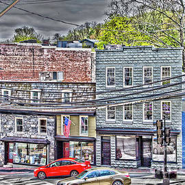Historic Ellicott City by William Norton