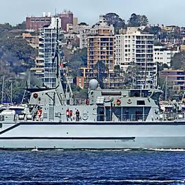 HMAS Diamantina 86 RAN by Miroslava Jurcik