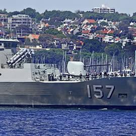 HMAS Perth 157 by Miroslava Jurcik