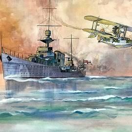 Ray Agius - HMS Dunedin