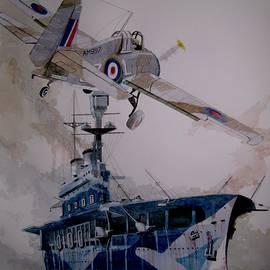 Ray Agius - HMS Eagle