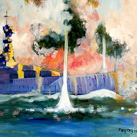 Ray Agius - HMS Queen Elizabeth 1915