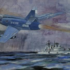Ray Agius - HMS Sheffield