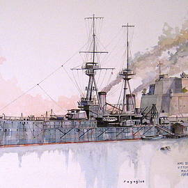 Ray Agius - HMS Superb
