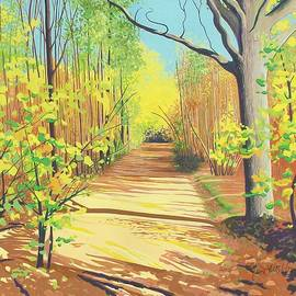 Janet Darley - Hoath Woods Early Autumn