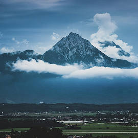 Hochstaufen And Zwiesel Mountain Peaks by Andy Konieczny