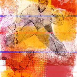 Hockey Goalie by Kirby Wilson