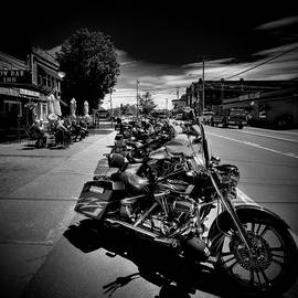 Hogs In Old Forge by David Patterson