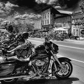Hogs On Main Street by David Patterson