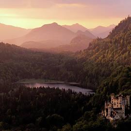 Hohenschwangau Castle by Francesco Emanuele Carucci