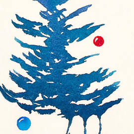 Holiday Fir Tree by Teresa Ascone