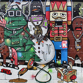 Steven Parker - Holiday Mural