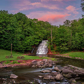 Mark Papke - Holley Canal Falls Sunset