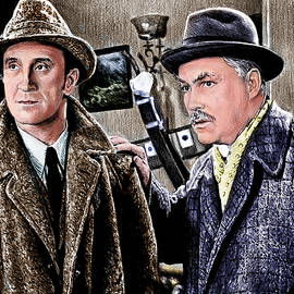Andrew Read - Holmes and Watson colour 2