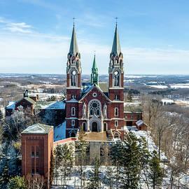Randy Scherkenbach - Holy Hill in the Snow