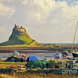 Holy Island And Lindisfarne Castle by Martyn Arnold