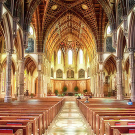 Holy Name Cathedral Chicago 01 by Thomas Woolworth