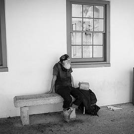 Kendall Tabor - Homeless on Bench