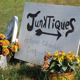 Arlane Crump - HOMETOWN Series - Junktiques Sign