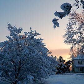 Arlane Crump - HOMETOWN Series - Snowy Sunrise