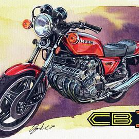 Honda CBX - Yoshiharu Miyakawa
