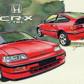 Honda CRX VTEC - Yoshiharu Miyakawa