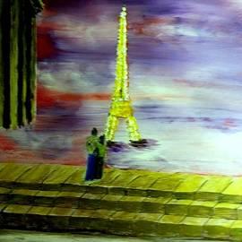 Honeymoon In Paris by Irving Starr
