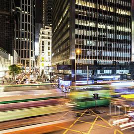Didier Marti - Hong Kong Central at night