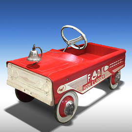 Hook and Ladder Peddle Car by Mike McGlothlen