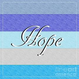 Eloise Schneider - HOPE on Blue
