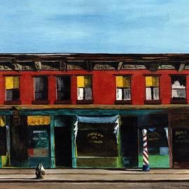 Hopper's sunday morning by Stuart B Yaeger