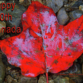 Photography By Phos3 Kathryn Parent and Dave Paddick - Horizontal Happy 150th Canada by Dave