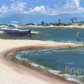 Horn Island Cove by Leslie Dobbins