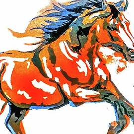 Jean Jonquiere - Horse Bolting