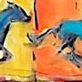 Horse In Motion 1 by Les Leffingwell