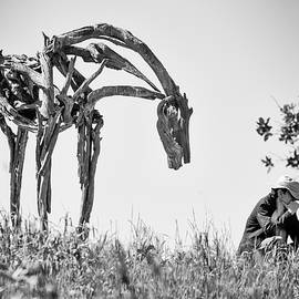 Horse Looking Over My Shoulder by Robin Zygelman