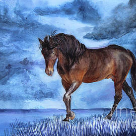 Horse of Wind and Water by Ameris Grapa