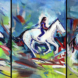 Horse Three II by John Jr Gholson