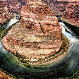 Horseshoe Bend Colorado River by Gigi Ebert