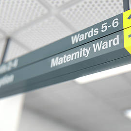 Hospital Directional Sign Maternity - Allan Swart