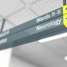 Hospital Directional Sign Neurology - Allan Swart