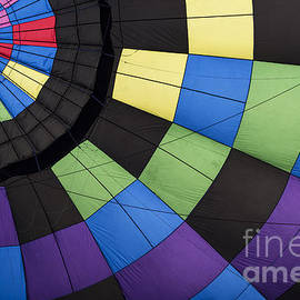 Hot Air Balloon Abstract by Juli Scalzi
