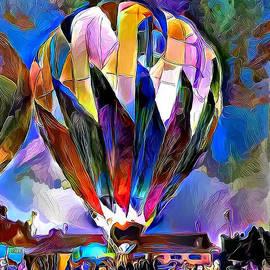 Hot Air Balloons 1 by Patty Vicknair