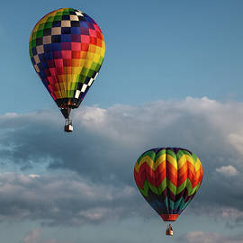 Randall Nyhof - Hot Air Balloons at the Battle Creek Michigan Balloon Festival
